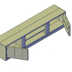 TV meubel bouwtekening type 2