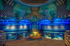 Walt Disney World - EPCOT - Sea Base Alpha