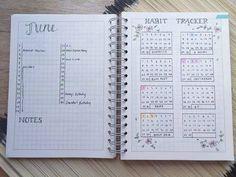 Habit tracker in the bullet journal!