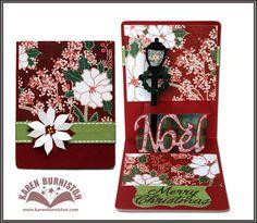 Pop 'n Cuts Noel Card with Lantern