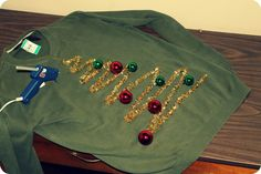 owls & monsters: DIY Ugly Christmas Sweater