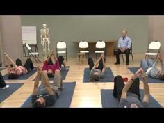 "▶ ""Improving Your Neck,"" an Awareness Through Movement Lesson with David Zemach-Bersin - YouTube"