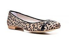 Homers Laura Short Hair Flats Womens Shoes Jaguar Beige Size 8