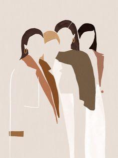 drawing by Caroline Morin art abstract Minimalist Women Illustration Art Et Illustration, Graphic Design Illustration, Graphic Art, Arte Indie, Art Minimaliste, Minimalist Art, Minimalist Drawing, Aesthetic Art, Art Inspo
