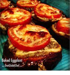 baked eggplant with tomato