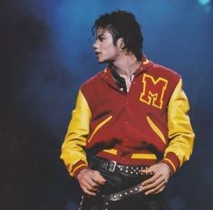 #MichaelJackson #ThrillerJacket #MLogo #VarsityJacket Presenting #Michael Jackson Thriller attractive #yellowandred M logo varsity #jacket is a finest #funkyoutfit that you can have. It has got an eye catching color combination, #comfort and durability. This is what made this Michael Jackson Varsity jacket a true must have #outfit