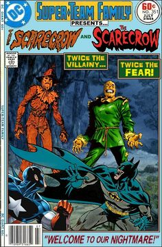 Super-Team Family: The Lost Issues!: The Scarecrow and The Scarecrow