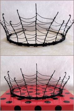 DIY Inspiration: Wire Cobweb Crown designed by Alex Gumn and sold out at Folksy. If you read my other blog truebluemeandyou, there are pages of wire and wire wrapped DIYs here to help you make this. If you want to be the Queen of Hearts, here is the...