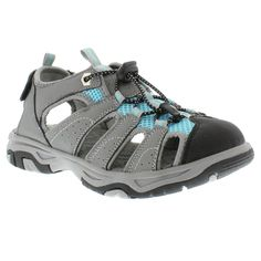Women's Itasca West Lake Hiking Sandals - Blue/Grey 10, Ice Blue/Grey