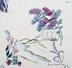 Brazilian Embroidery Designs Flowers | ... these designs and I hope our B.E. stitchers enjoy playing with them