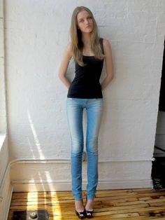 Vlada Roslyakova #skinnybutstillsexy #blonde #thighgap
