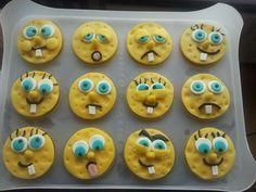 Sponsbob cupcakes