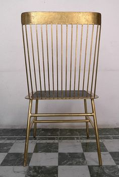 Good as Gold Windsor Chair from Casamidy