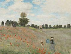 Poppy Field1873 Claude Monet | Musée d'Orsay, Paris