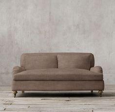 6' Belgian Classic Roll Arm Upholstered Sofa