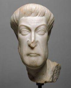 Eutropius, a Senior Official in Ephesus, ca. 450 C.E.   Kunsthistorisches Museum, Wien,  Inv ANSA_I_880