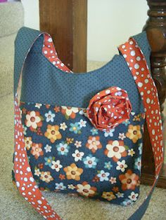 "Perfect sized sling bag -  approx 12"" x 12"""