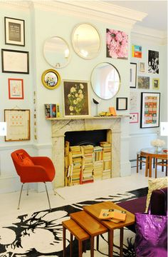 Kate Spade London Pop-Up Shop #office #lightblue