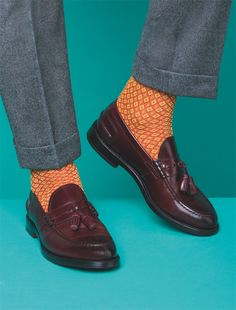Socks & Shoes by L'Uomo Vogue November Issue : Bresciani Calze