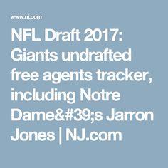 NFL Draft 2017: Giants undrafted free agents tracker, including Notre Dame's Jarron Jones         NJ.com