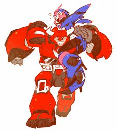 arcee and cliff jumper...........