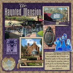 Haunted Mansion - Page 4 - MouseScrappers.com