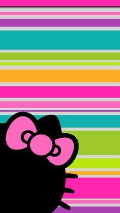 New wallpaper iphone, kids wallpaper, colorful wallpaper, cellphone wallpap New Wallpaper Iphone, Cute Wallpaper Backgrounds, Colorful Wallpaper, Cute Wallpapers, Hello Kitty Art, Hello Kitty Themes, Sanrio Hello Kitty, Hello Hello, Hello Kitty Pictures