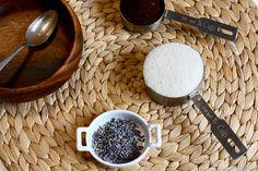 Coffee and Lavender sugar body scrub