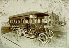 An Old Model T Bus -