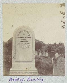 Henry Pauw van Wieldrecht | Grafsteen op het kerkhof van Brading op Isle of Wight, Henry Pauw van Wieldrecht, 1889 |