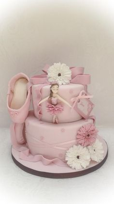 Little dancer - Cake by Samantha's Cake Design