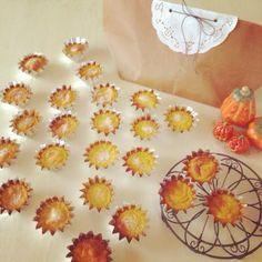 ペーストしたカボチャを たっぷり練り込んだ プチプチチーズケーキ  沢山作って手土産に(n´v`n)♪ - 102件のもぐもぐ - カボチャのプチケーキ by nanon
