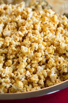 Salted Caramel Popcorn {Chewy}