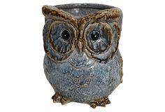 Owl Vase, Large on OneKingsLane.com