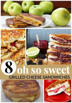 sweet grilled cheese sandwiches 8 oh so sweet grilled cheese sandwich ...