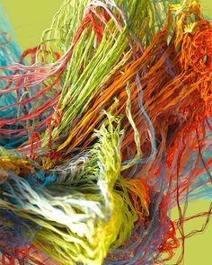 Knitted 3D Artworks by Jon Noorlander – Fubiz Media