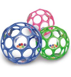 Rhino O Ball Baby Rattle - Little ones love how easy it is to grasp this toy. An in store favourite!