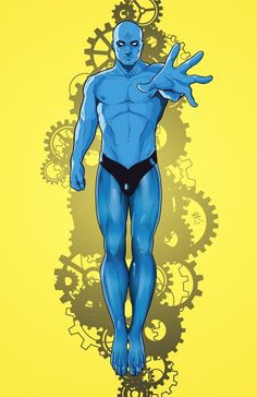 Who Watches the Watchmen Podcast — Strange Harbors Superhero Characters, Dc Comics Characters, Dc Comics Art, Comic Books Art, Comic Art, Book Art, Character Poses, Comic Character, Marvel Vs