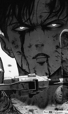 Saldırı On Titan - Levi Vs Titan HD duvar kağıdı indir