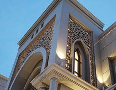 The name of the project related to the Islamic Architecture, Plot area of X Meters) located in Iraq/Duhok, The House contain of Three levels, ground, first and second Floor. Mosque Architecture, Neoclassical Architecture, Architecture Wallpaper, Futuristic Architecture, Beautiful Architecture, Architecture Details, Architecture Sketches, Villa Design, Facade Design