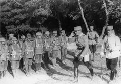 A Romanian officer salutes soldiers Troops, Soldiers, Eastern Europe, World War I, Wwi, Campaign, Army, Military, Country