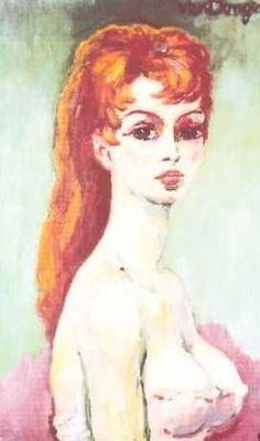 Brigitte Bardot by Kees van Dongen.