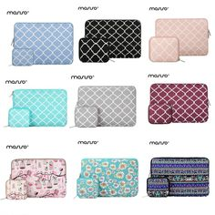 New Protect Case Sleeve Bag With Hand Strap For Macbook Air Pro 11.6 12 13.3 15.4 Pu Leather Laptop Notebook Case Pouch Quality First Laptop Accessories