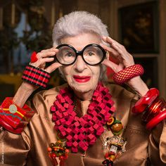 Iris Apfel exhibition at the Bon Marche | Vogue Paris