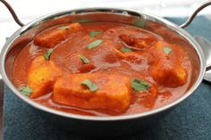 """Blogger said, """"Paneer Tikka Masala is super easy to make and one of my staple dishes when I have guests! You can also substitue Paneer with Tofu,Chicken or Fish!"""""""