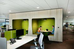 Brněnskou pobočku firmy IBM navrhla společnost U1. Kancelářské prostory nemají…