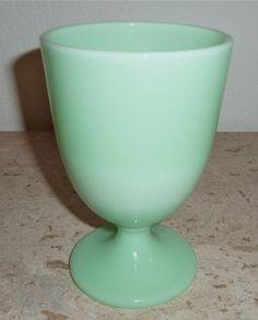 Fenton Martha Stewart By Mail Jadite Green Milk Glass Egg Goblet Pedestal Flower Vase Jadeite Jade-ite by Fenton, http://www.amazon.com/dp/B007RZII1O/ref=cm_sw_r_pi_dp_tR5rqb0DZVWFR