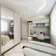 """82 curtidas, 1 comentários - Lorena Leão (@lorenaleao_arquitetura) no Instagram: """"Projeto de Interiores de um quarto clean, mas ao mesmo tempo aconchegante!!Nesse ambiente já…"""""""