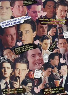 Twin Peaks / Agent Cooper Collage