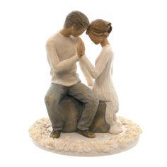 Willow Tree Around You Cake Topper Figurine